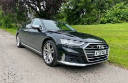 Audi S8, 2021, front