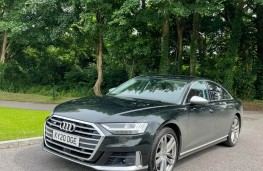 Audi S8, 2021, front, upright
