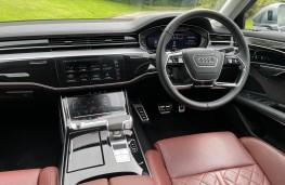 Audi S8, 2021, interior