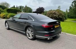 Audi S8, 2021, rear