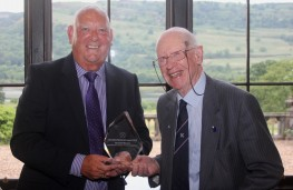 John Murdoch with Ian Scott-Watson, Jim Clark Memorial Award