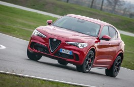 Alfa Romeo Stelvio, Balocco, 2018, front, action