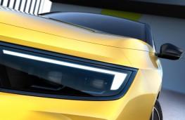 Vauxhall Astra, 2021, headlight