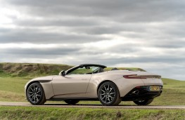 Aston Martin DB11 Volante, side static