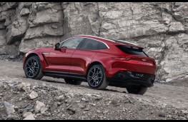 Aston Martin DBX, 2019, rear, static