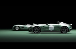 Aston Martin V12 Speedster, side static