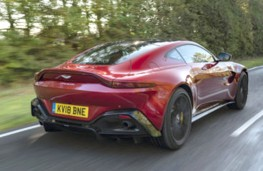 Aston Martin Vantage rear action