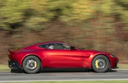 Aston Martin Vantage side action