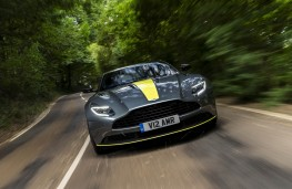 Aston Martin DB11 AMR, front action 2