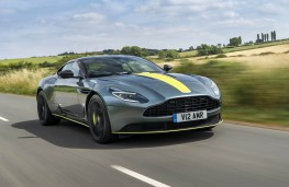 Aston Martin DB11 AMR, front action