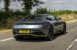 Aston Martin DB11 AMR, rear action