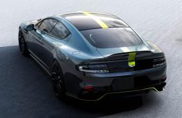 Aston Martin Rapide AMR rear overhead