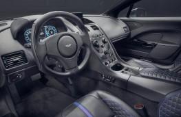 Aston Martin Rapide E cockpit