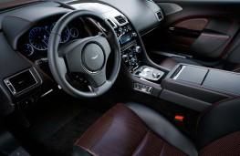 Aston Martin Rapide S cockpit