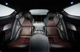 Aston Martin Rapide S rear seats