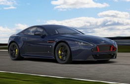 Aston Martin Vantage S Red Bull Racing action