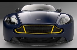 Aston Martin Vantage S Red Bull Racing head on