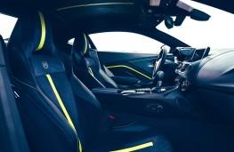 Aston Martin Vantage AMR cockpit