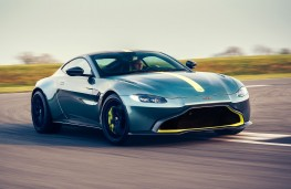 Aston Martin Vantage AMR front action