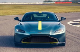 Aston Martin Vantage AMR head on