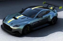 Aston Martin Vantage AMR Pro front overhead