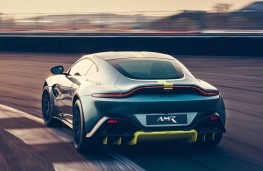 Aston Martin Vantage AMR rear action