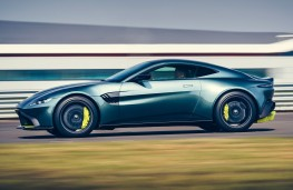 Aston Martin Vantage AMR side action