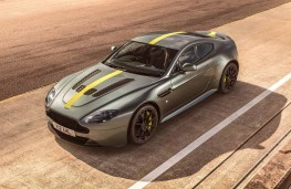 Aston Martin Vantage AMR V12 Coupe front overhead