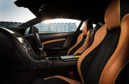 Aston Martin Vantage AMR V8 interior