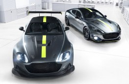 Aston Martin Vantage and Rapide AMR 2