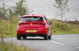 Vauxhall Astra 2015, rear