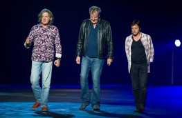 Top Gear presenters, James May, Jeremy Clarkson, Richard Hammond
