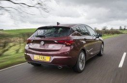 Vauxhall Astra Ultimate, 2018, rear