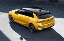 Vauxhall Astra, 2021, rear