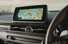 Toyota Supra, 2021, display screen