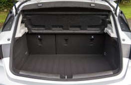 Vauxhall Astra, boot