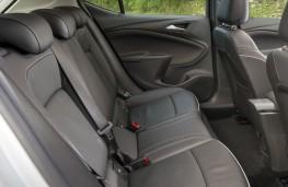 Vauxhall Astra, rear seats