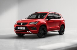 SEAT Ateca Black Edition, 2020, front