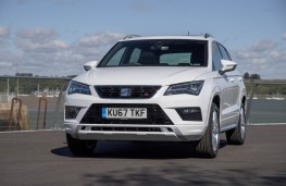 SEAT Ateca, front