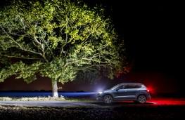SEAT Ateca, driving in the dark