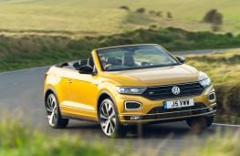 Volkswagen T-Roc Cabriolet, 2021, front, action