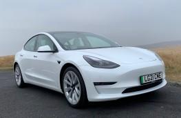 Tesla Model 3, 2021, front