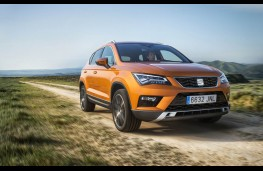 SEAT Ateca, front, action
