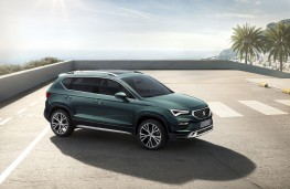 SEAT Ateca, 2020, front, static