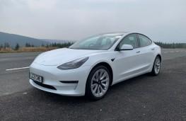 Tesla Model 3, 2021, front, static