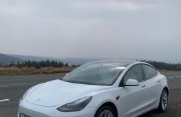 Tesla Model 3, 2021, front, upright