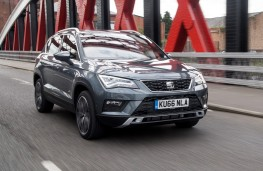 SEAT Ateca 2.0 TDI Xcellence, front