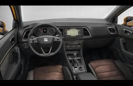 SEAT Ateca, 2016, interior