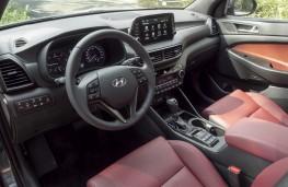 Hyundai Tucson hybrid, 2018, interior