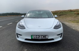 Tesla Model 3, 2021, nose